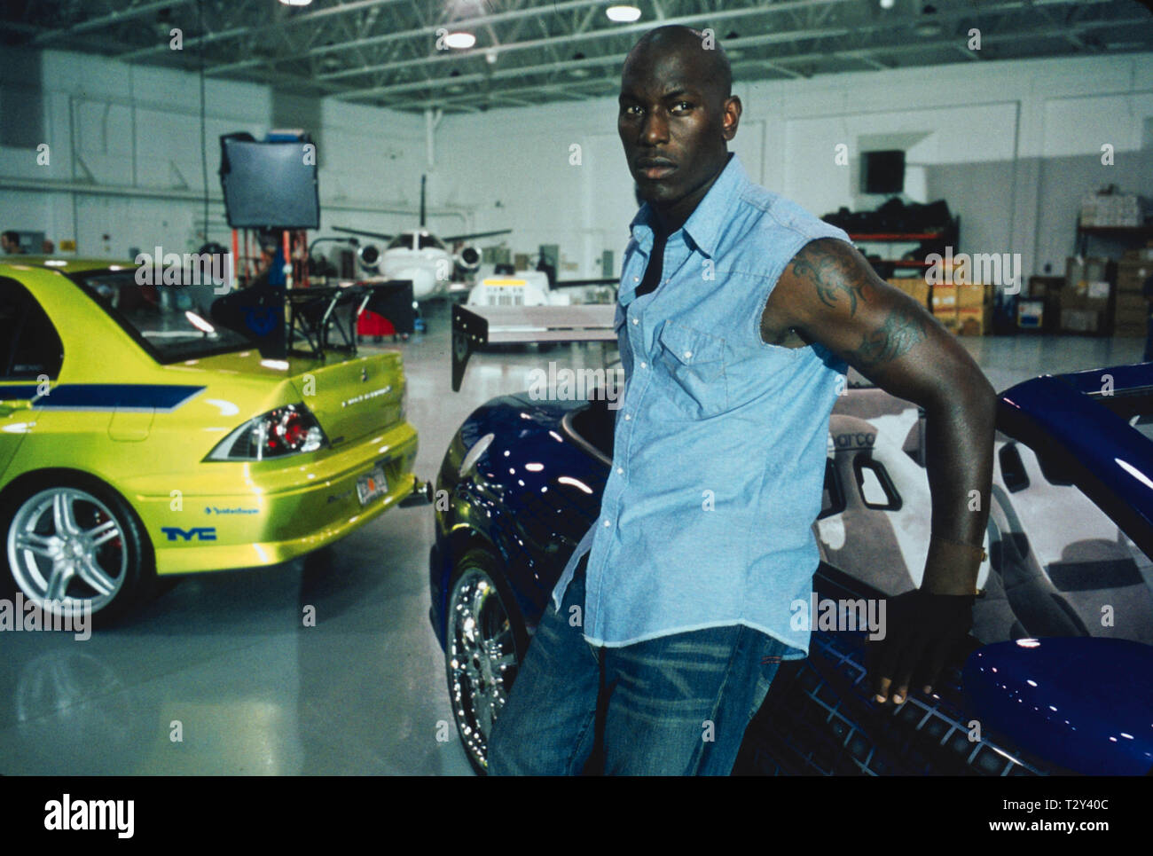 Tyrese Gibson 2 Fast 2 Furious 2003 Stock Photo Alamy