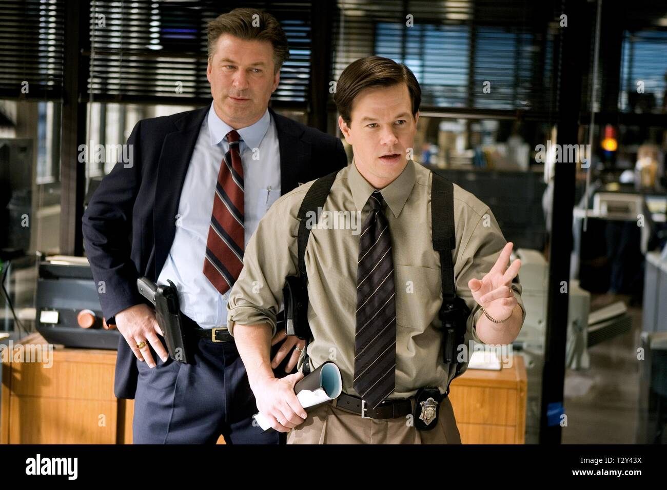ALEC BALDWIN, MARK WAHLBERG, THE DEPARTED, 2006 - Stock Image