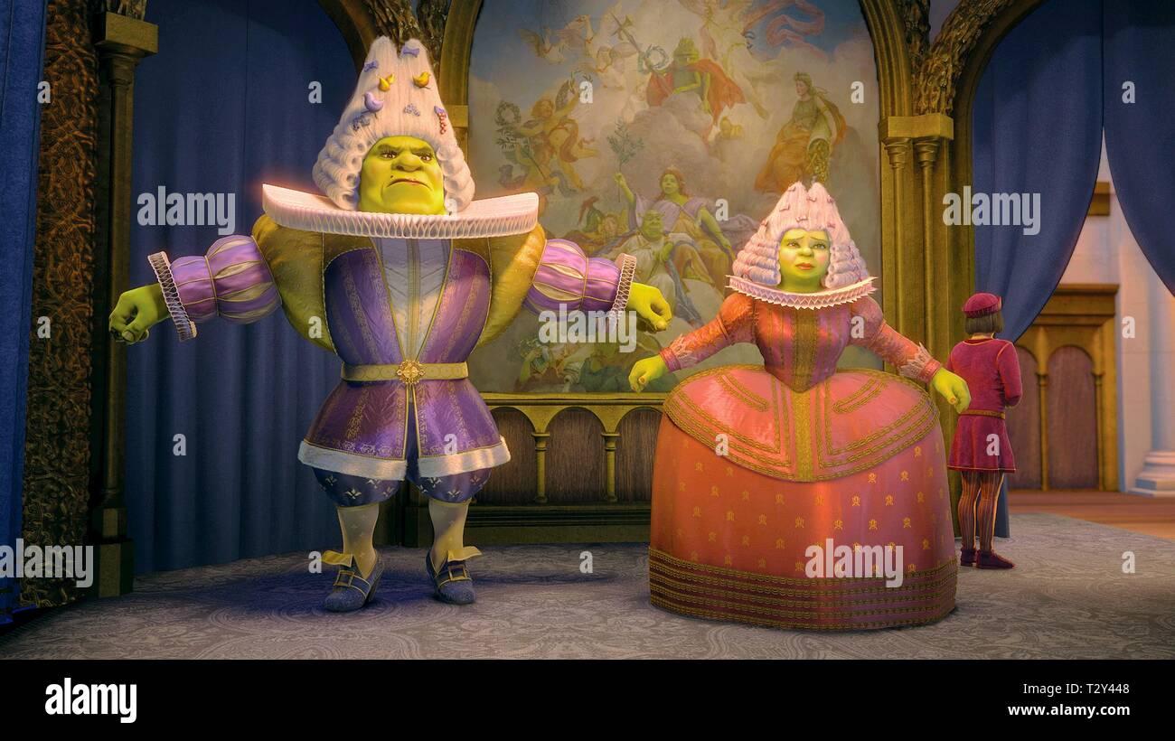 Shrek Princess Fiona Shrek The Third 2007 Stock Photo Alamy