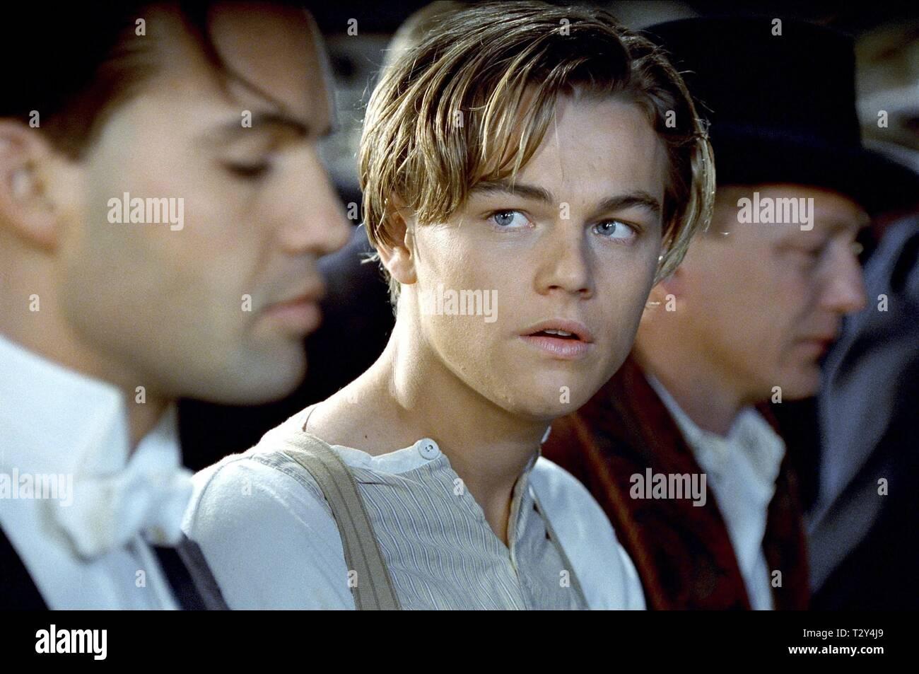 Billy Zane Leonardo Dicaprio Titanic 1997 Stock Photo Alamy