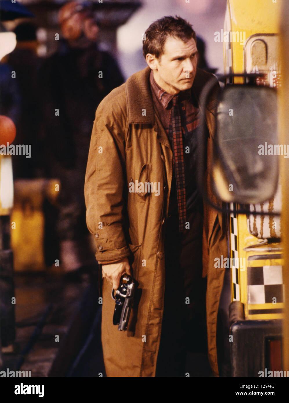 HARRISON FORD, BLADE RUNNER, 1982 - Stock Image