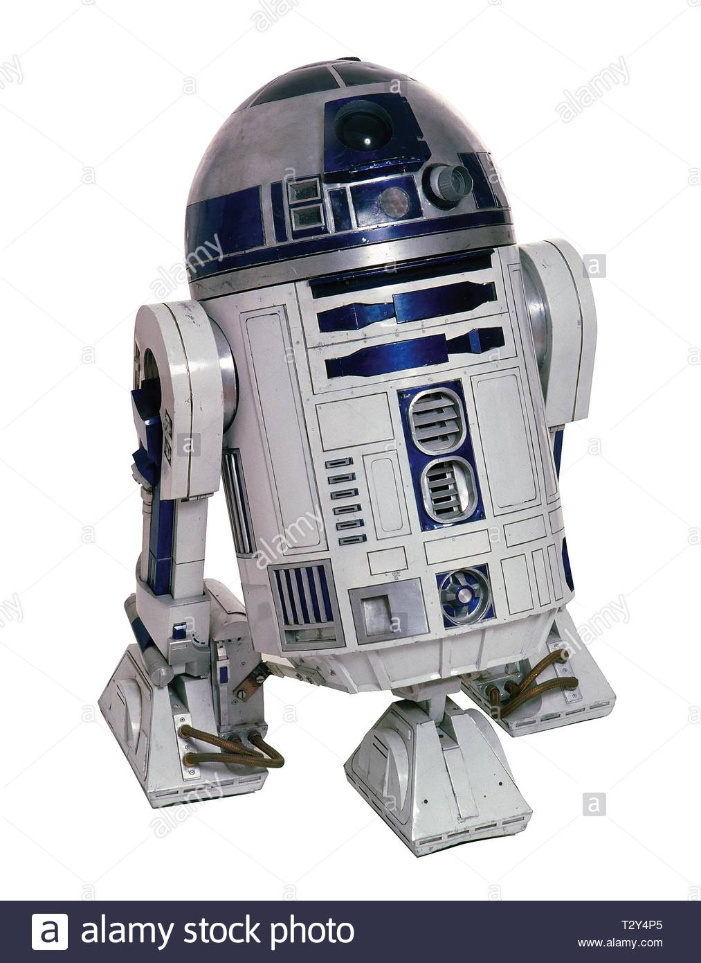 R2-D2, STAR WARS: EPISODE IV - A NEW HOPE, 1977 - Stock Image