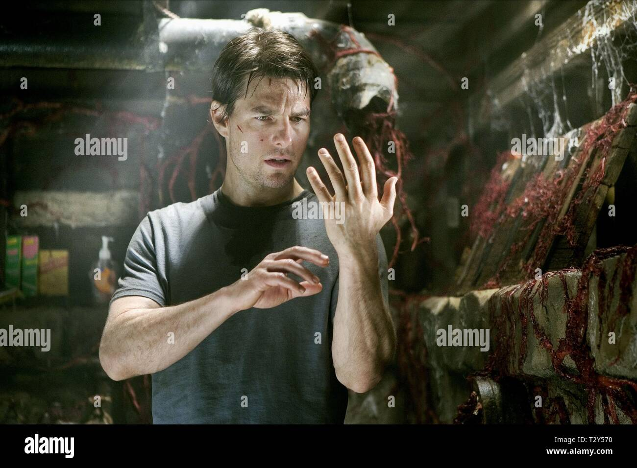 TOM CRUISE, WAR OF THE WORLDS, 2005 - Stock Image