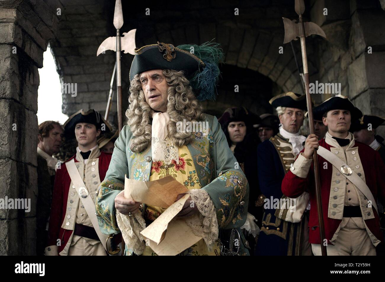JONATHAN PRYCE, PIRATES OF THE CARIBBEAN: DEAD MAN'S CHEST, 2006 Stock Photo