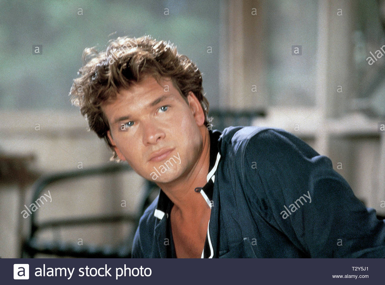 Patrick Swayze Dirty Dancing 1987 Stock Photo Alamy