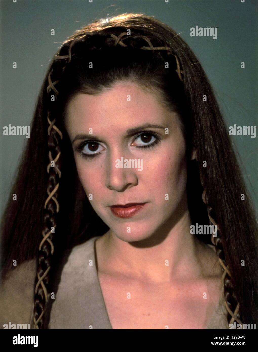 CARRIE FISHER, STAR WARS: EPISODE VI - RETURN OF THE JEDI, 1983 - Stock Image