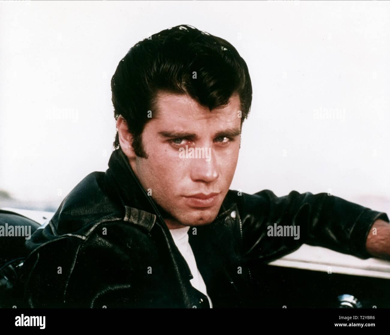 John Travolta Grease Stock Photos & John Travolta Grease Stock