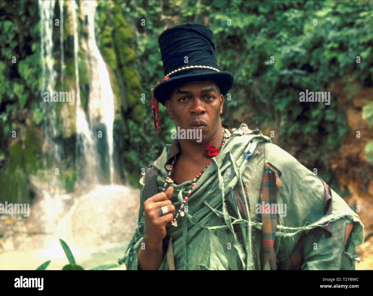 GEOFFREY HOLDER,  LIVE AND LET DIE, 1973 - Stock Image