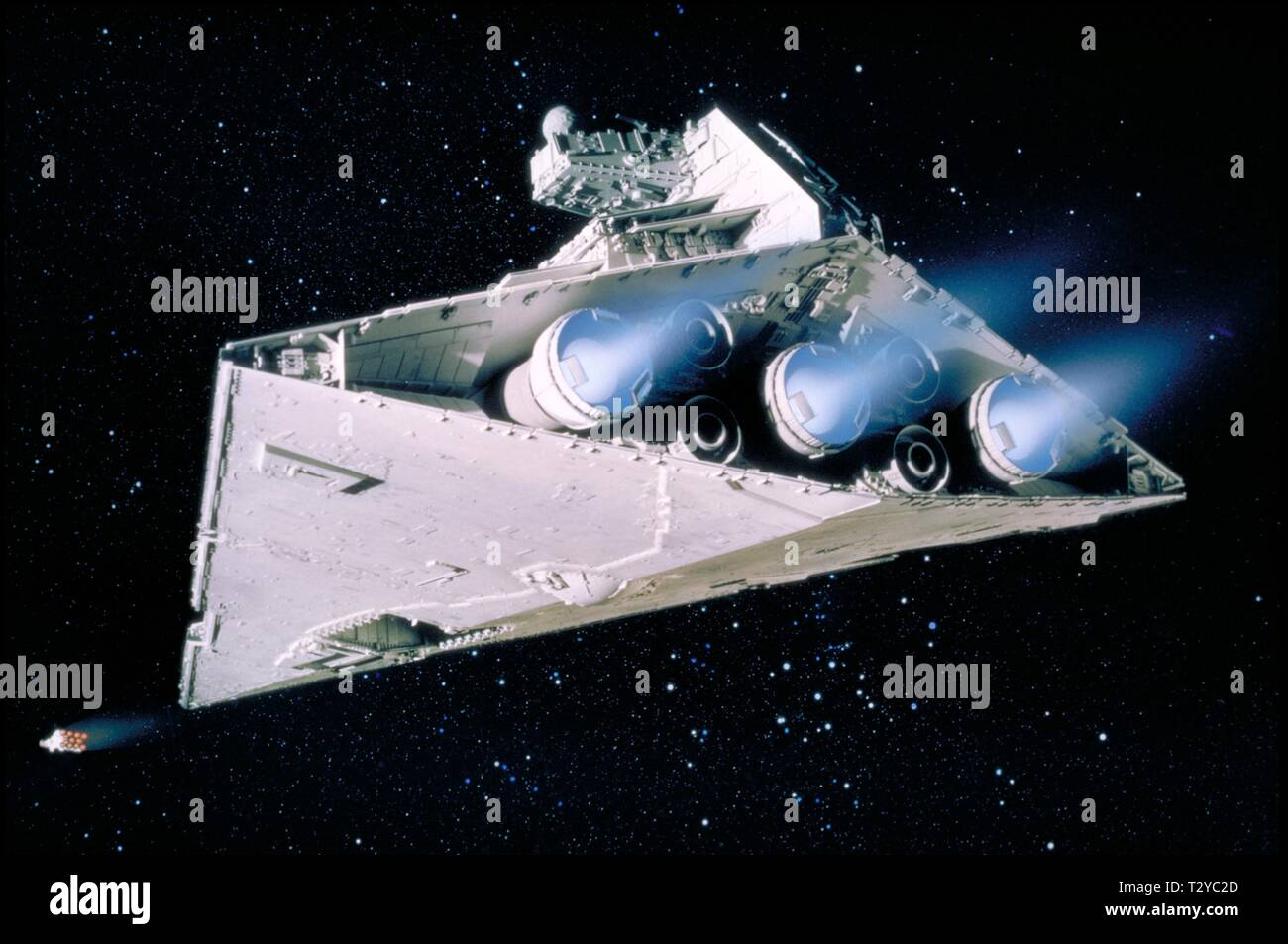 Imperial Destroyer Star Wars Episode Iv A New Hope 1977 Stock Photo Alamy