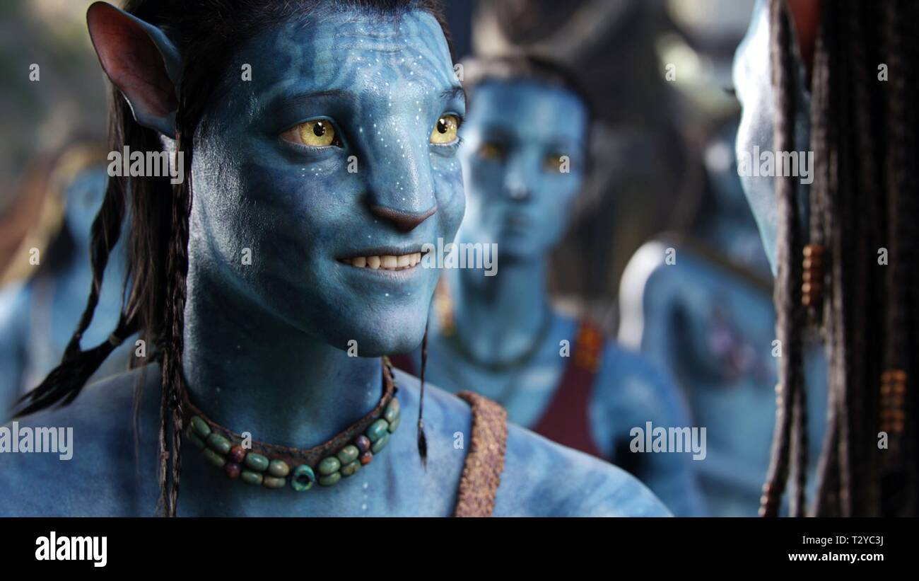 SAM WORTHINGTON, AVATAR, 2009 - Stock Image