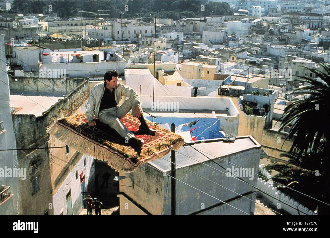 THE LIVING DAYLIGHTS, TIMOTHY DALTON, 1987 - Stock Image