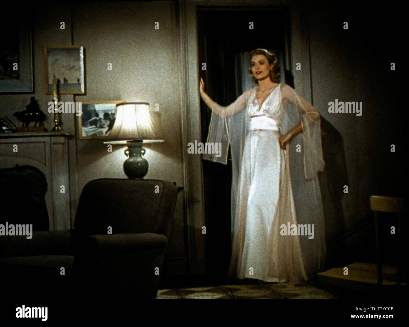 GRACE KELLY, REAR WINDOW, 1954 - Stock Image