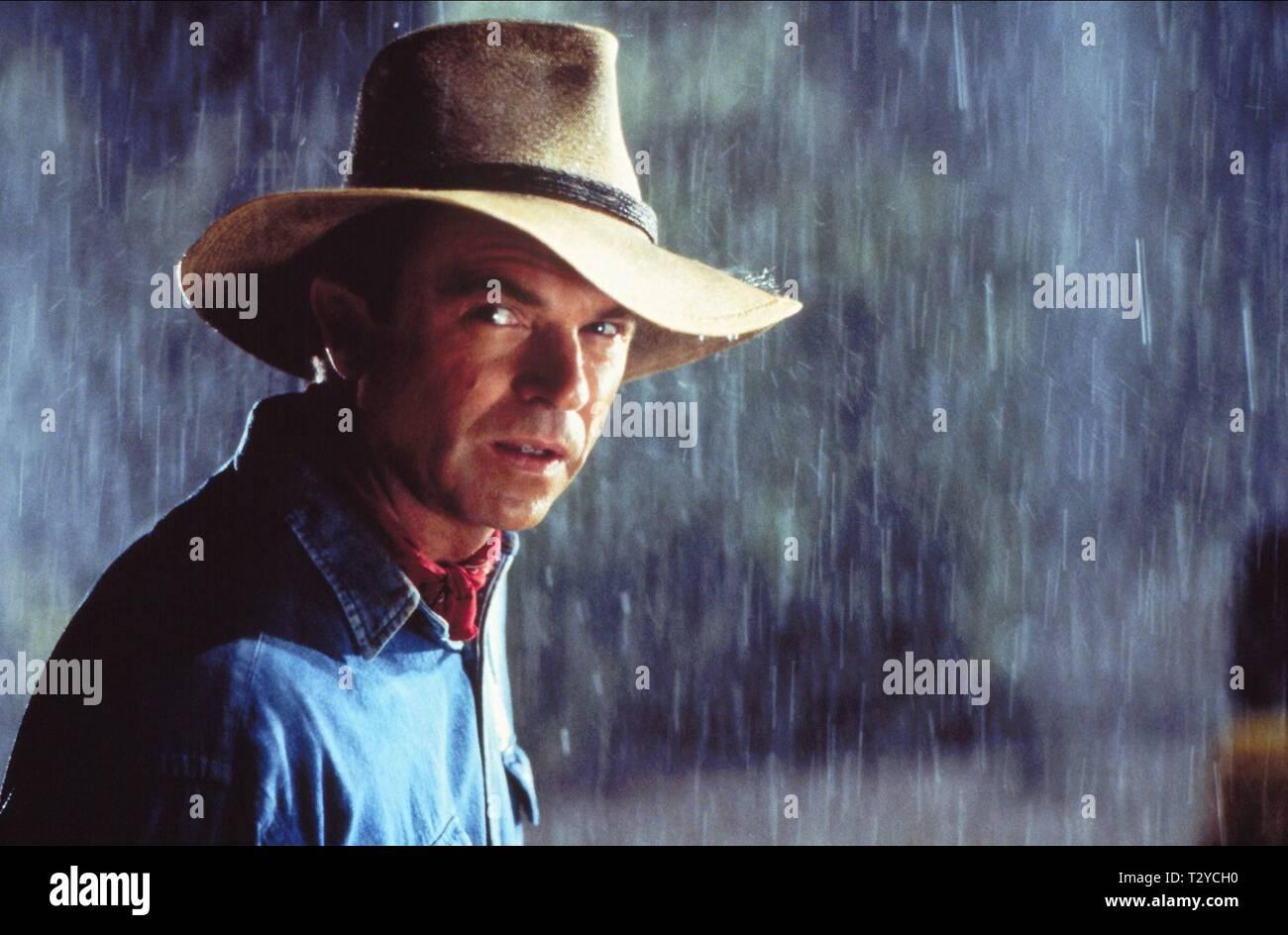 SAM NEILL, JURASSIC PARK, 1993 - Stock Image