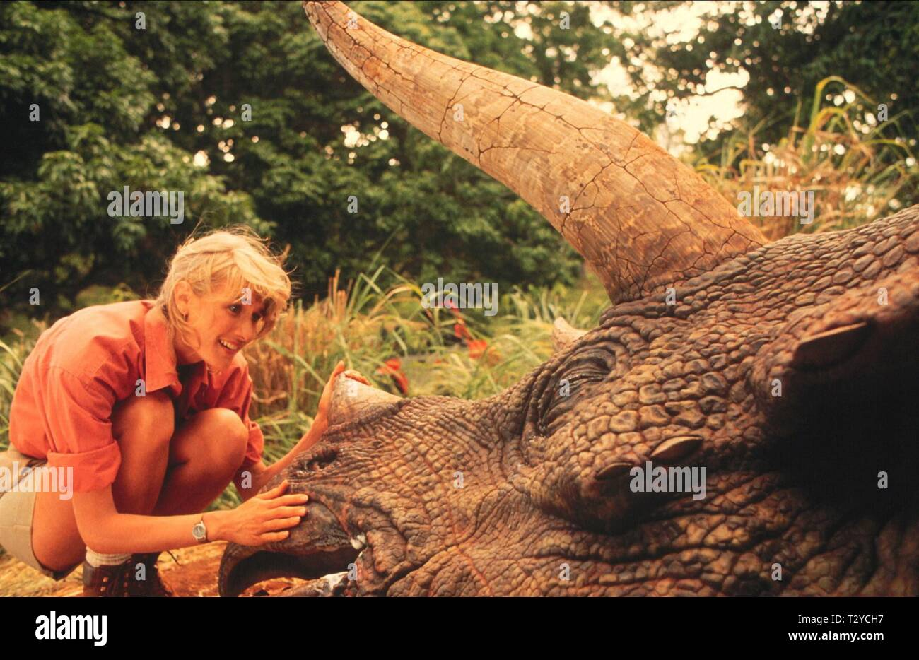 LAURA DERN, JURASSIC PARK, 1993 - Stock Image