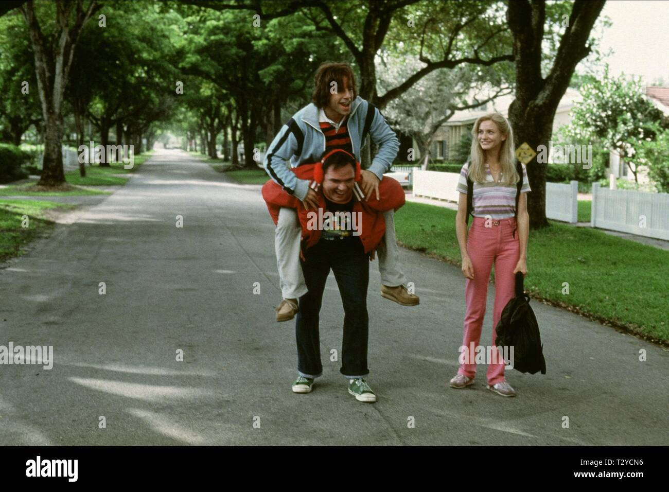 BEN STILLER, W. EARL BROWN, CAMERON DIAZ, THERE'S SOMETHING ABOUT MARY, 1998 - Stock Image