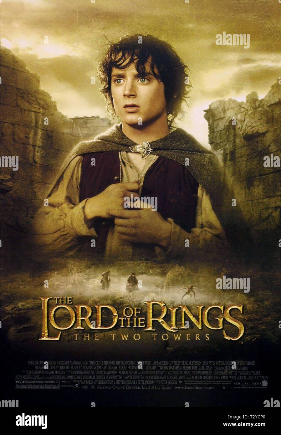Elijah Wood The Lord Of The Rings The Two Towers 2002 Stock Photo Alamy