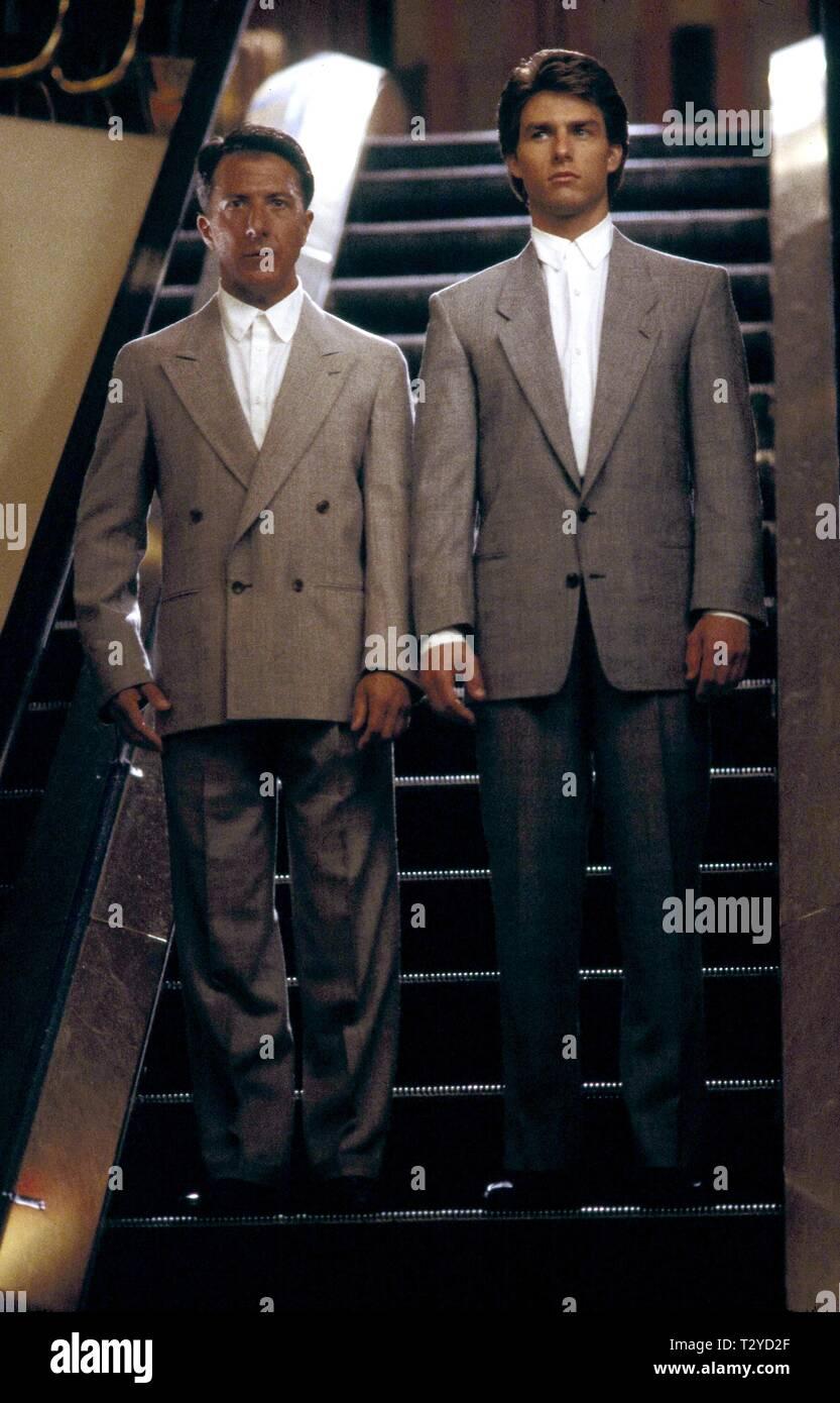 Dustin Hoffman Tom Cruise Rain Man 1988 Stock Photo Alamy