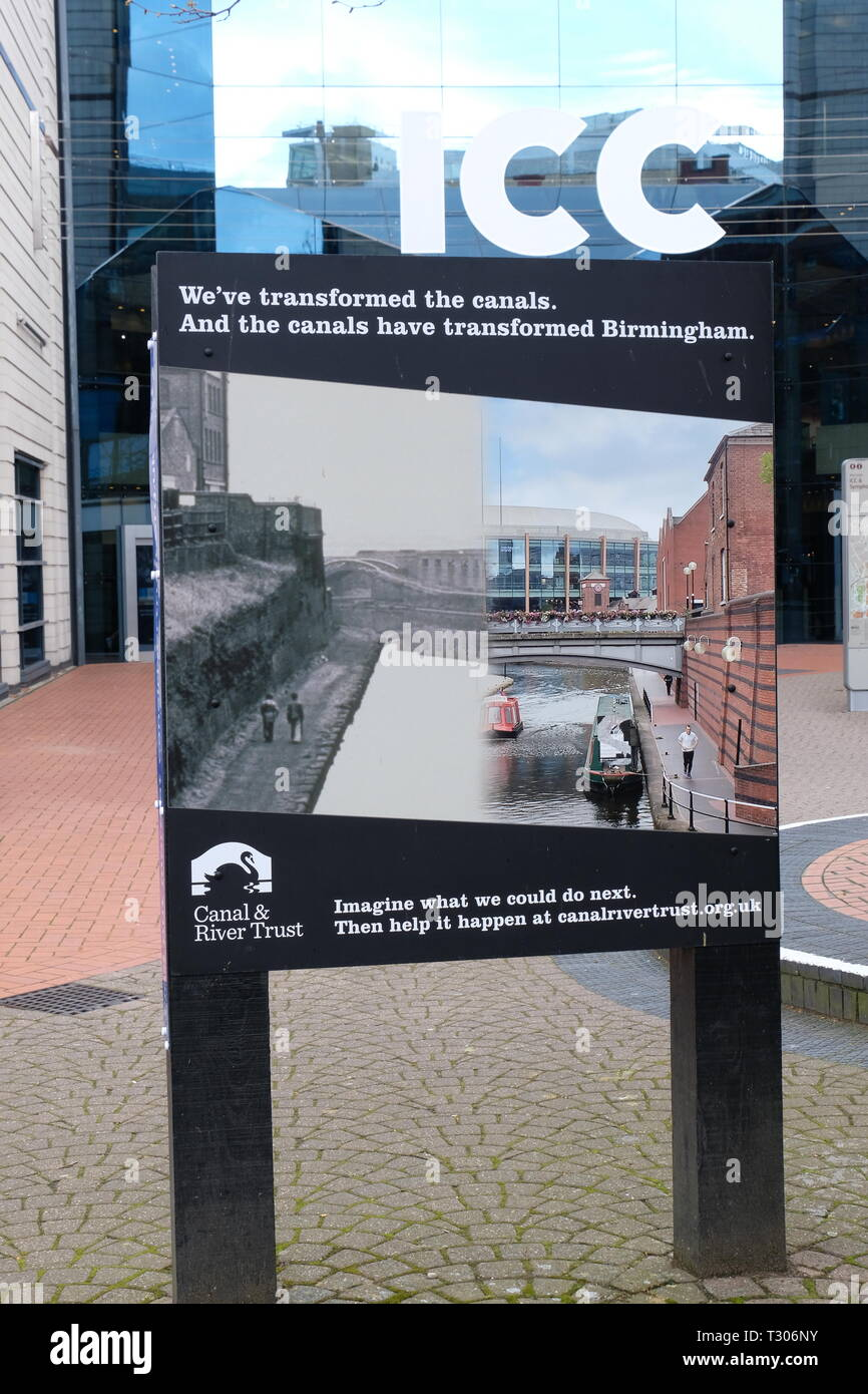 Birmingham Canals - Stock Image