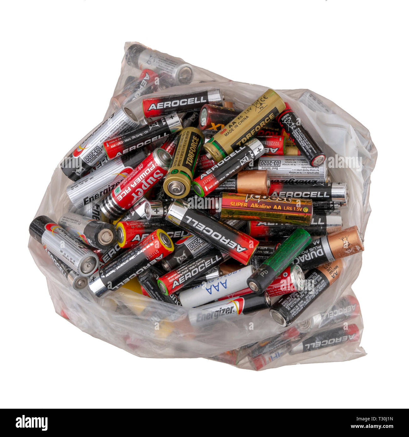 Batteries Recycle Stock Photos & Batteries Recycle Stock