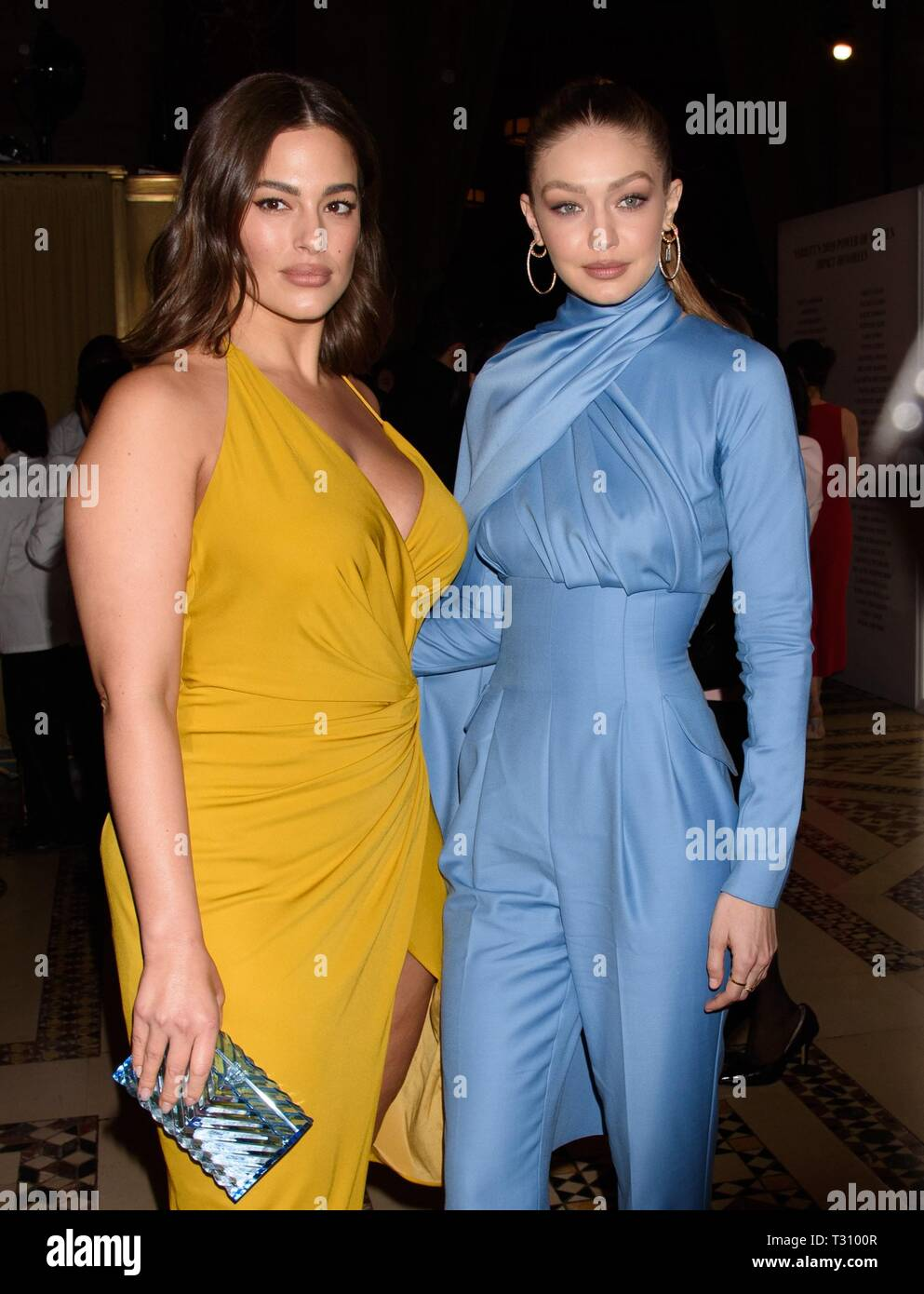 New York Ny Usa 5th Apr 2019 Ashley Graham Gigi Hadid At