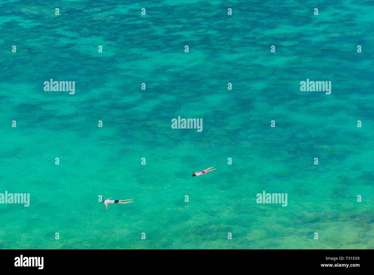 February 2019. Ko Lipe Thailand. A view of snorkling in Ko Lipe in Ko tarutao national park in Thailand Stock Photo