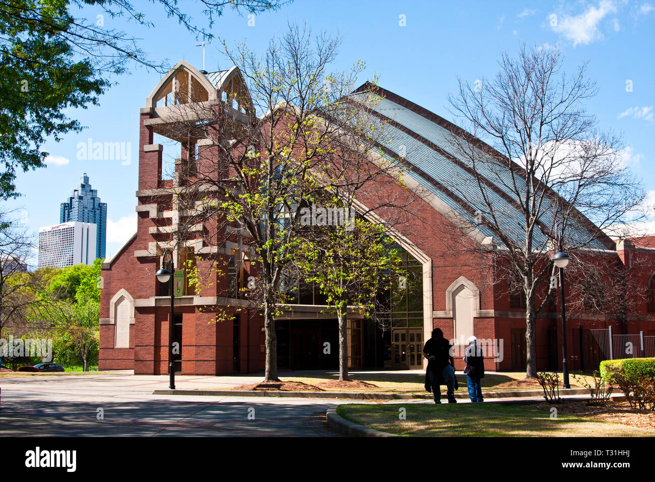 Martin Luther King national Historic Site, Visitor Center, - Stock Image