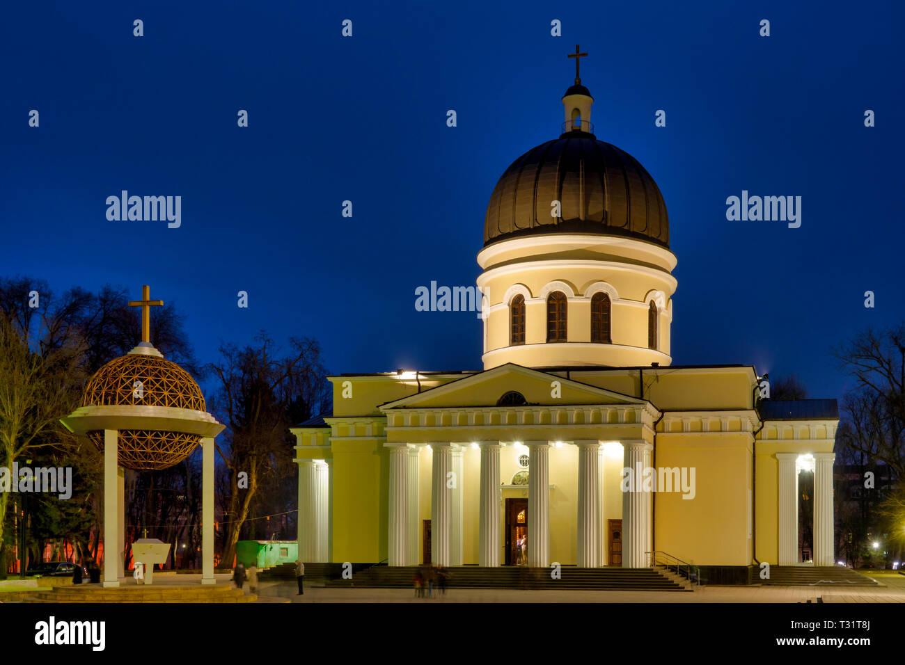 Cathedral of Christ's Nativity, Chișinău, Moldova - Stock Image