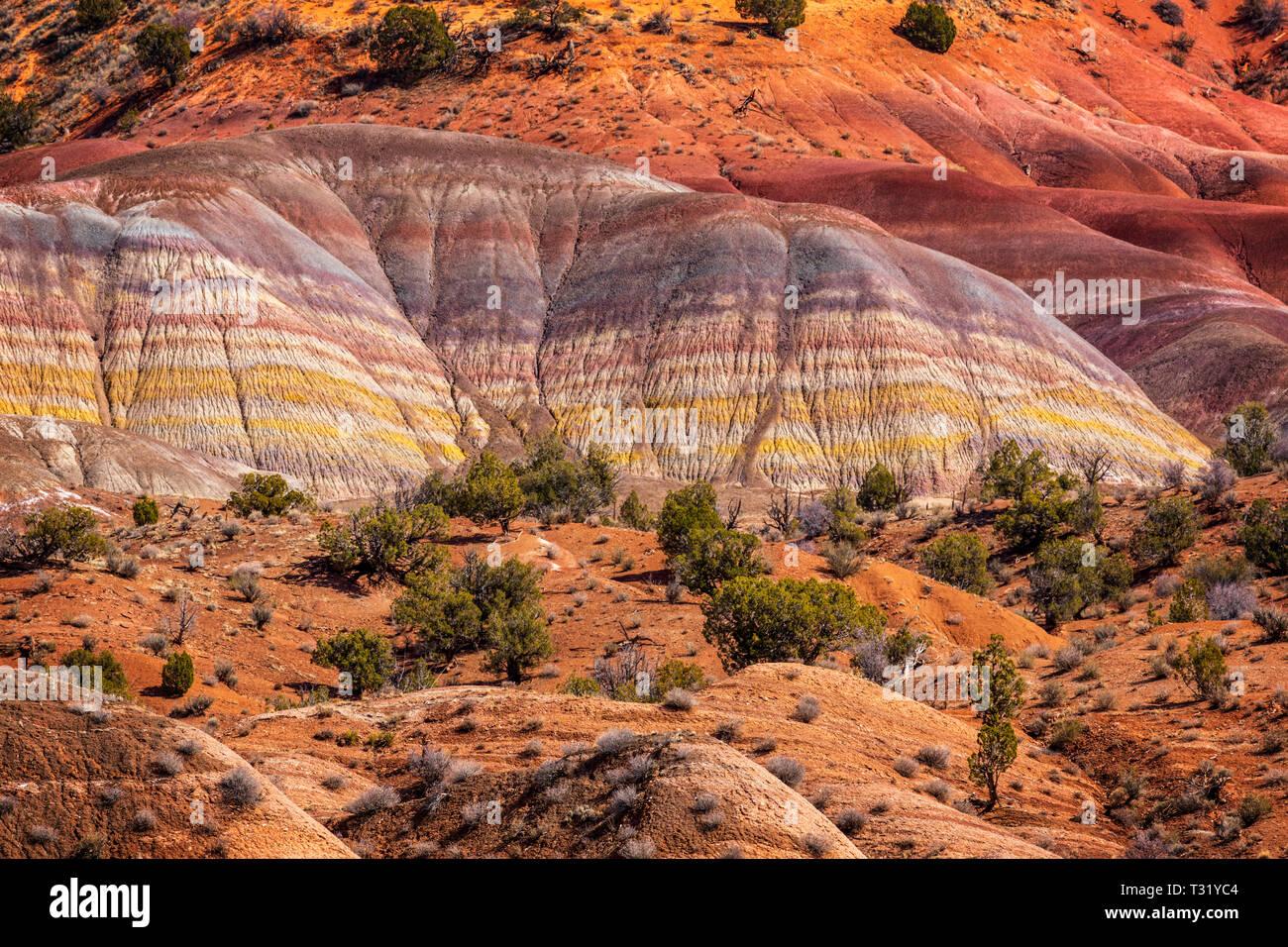 Colorful Canyon of Southwest USA Arizona and Utah Stock Photo