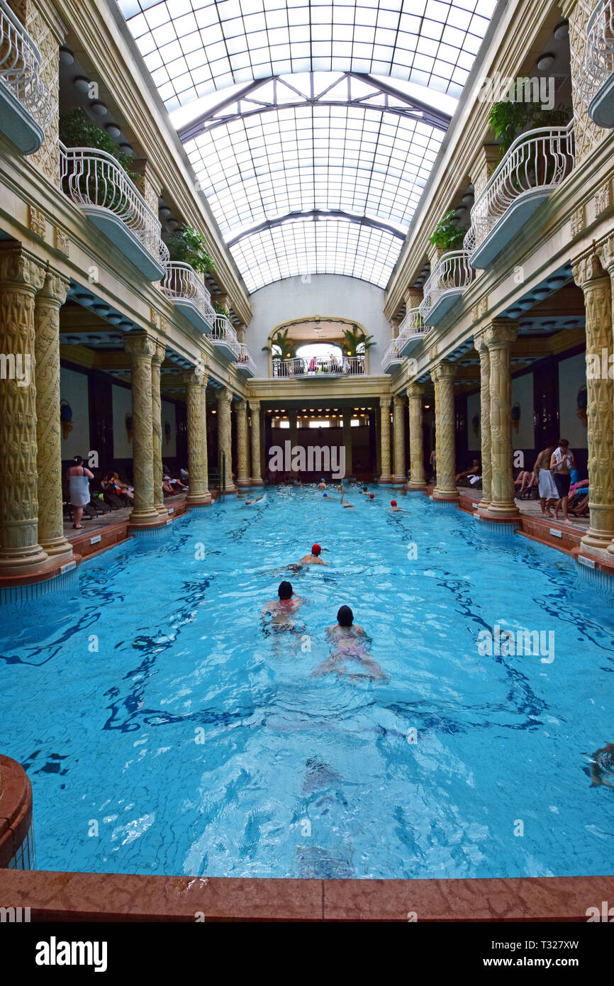 Banos Gellert.Gellert Thermal Baths And Swimming Pool Also Known As The