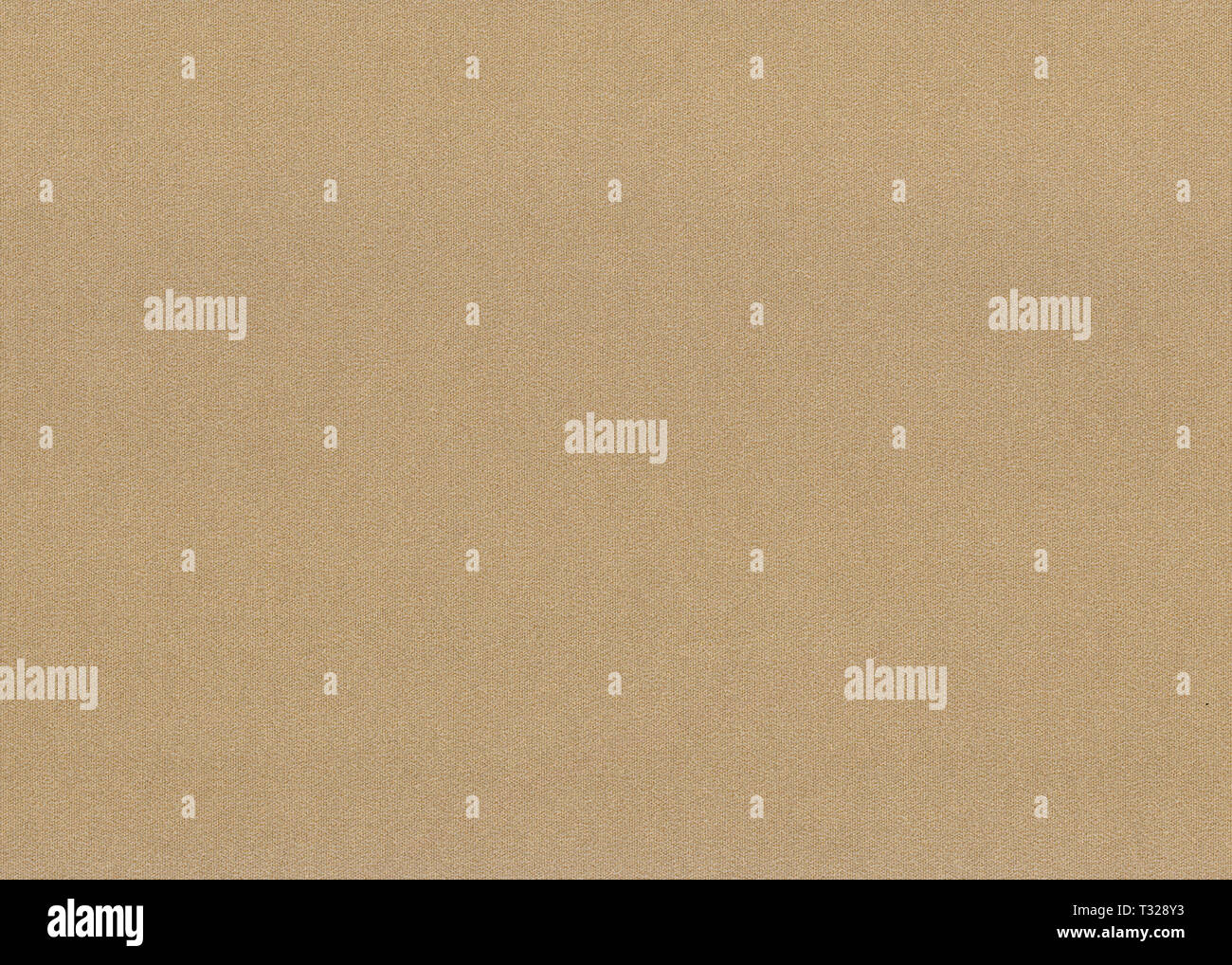 closeup of grained tweed brown paper background texture - Stock Image