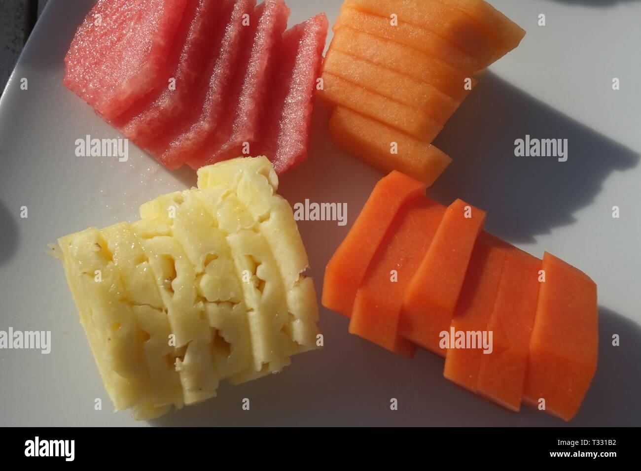 Fruit Mango Pineapple Water Melon And Cantaloupe Served For Breakfast At Playa Del Carmen Mexico Stock Photo Alamy It's also a good source of use tap water and a vegetable brush. https www alamy com fruit mango pineapple water melon and cantaloupe served for breakfast at playa del carmen mexico image242856070 html