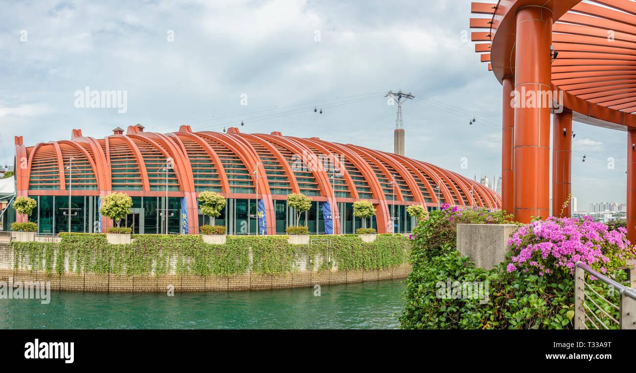 Sea Aquarium Sentosa Singapore Stock Photos & Sea Aquarium