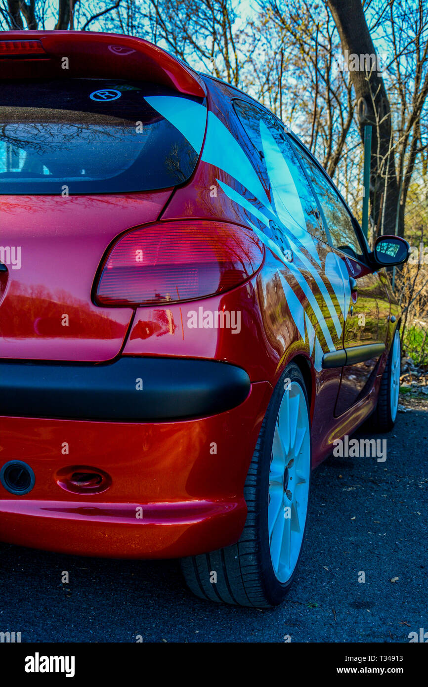 Peugeot Gti High Resolution Stock Photography And Images Alamy