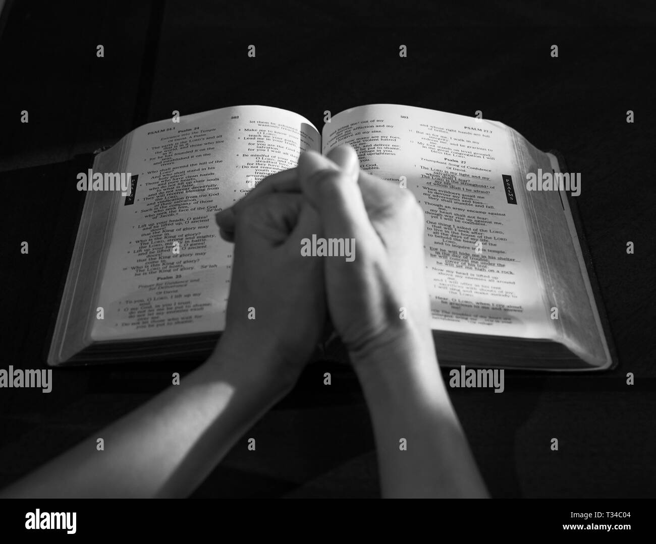 Religious Education Black and White Stock Photos & Images