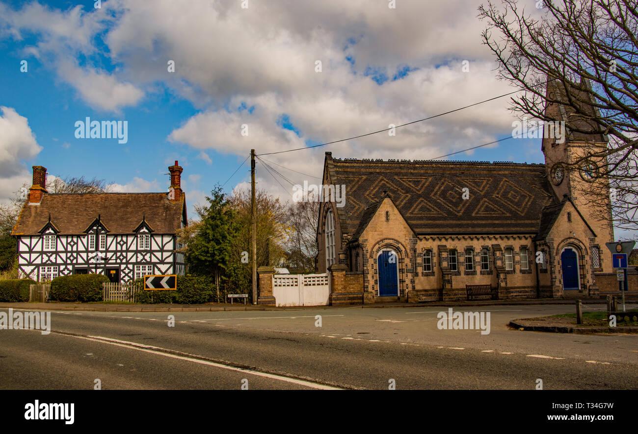 Apley estate office, Shropshire. - Stock Image