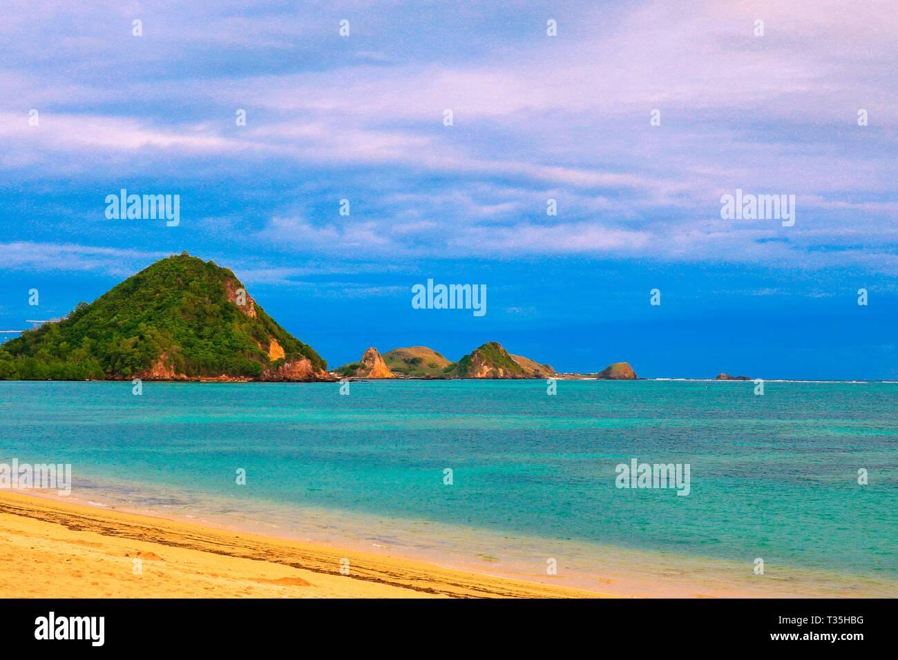 Mandalika Beach, Lombok, Indonesia - Stock Image