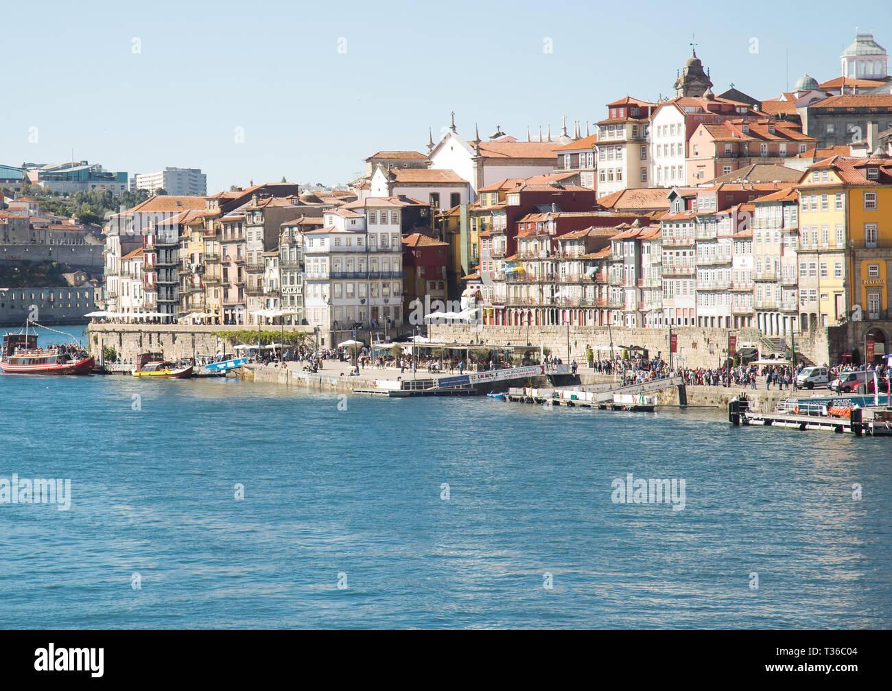 Porto, Portugal, October 2018 - Stock Image