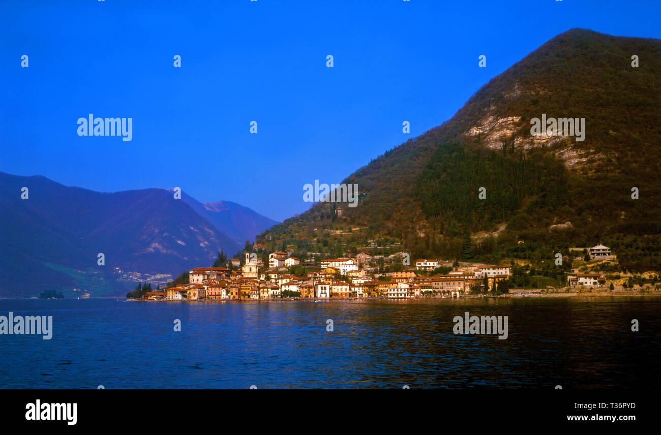 Monte Isola - Stock Image
