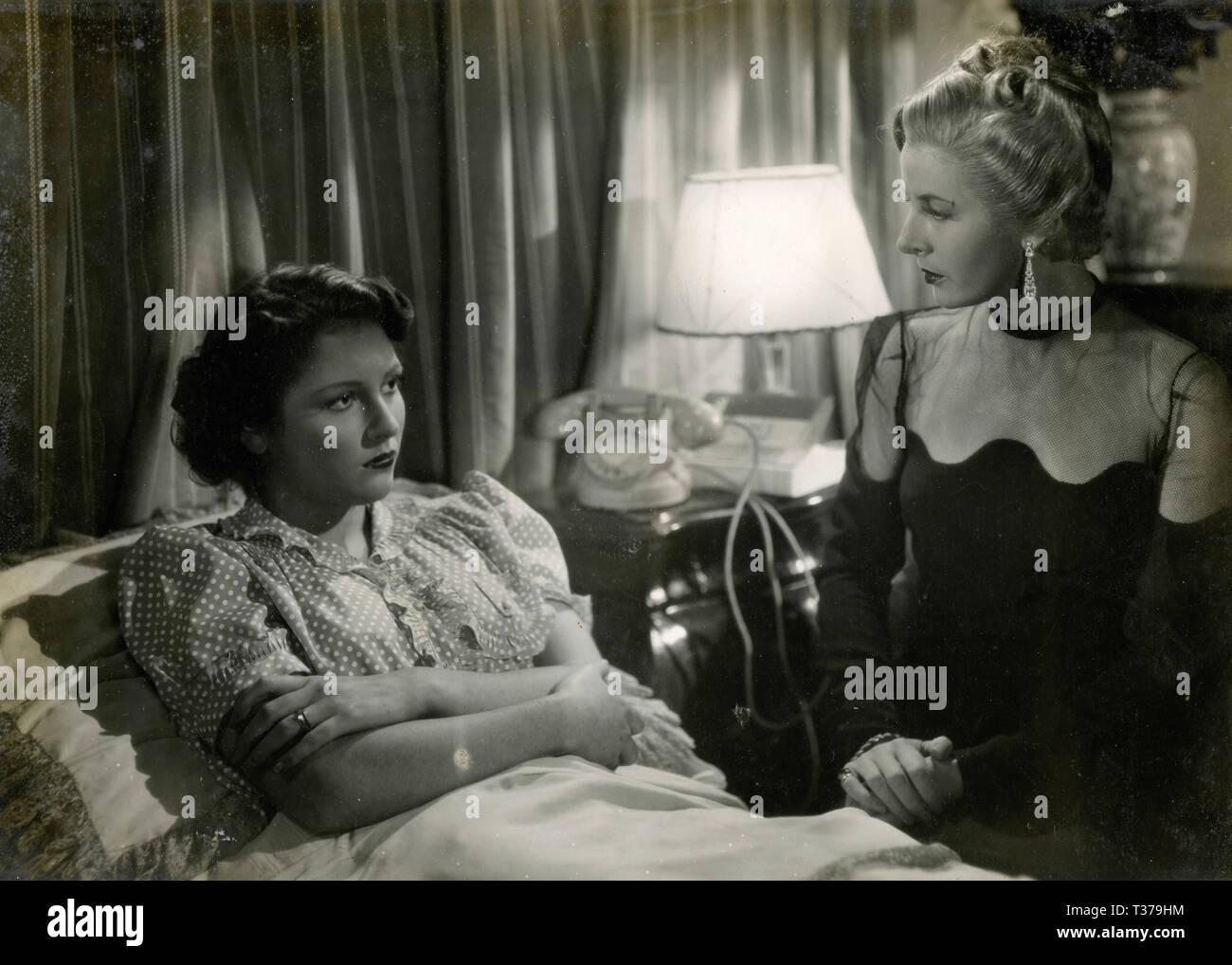Italian actress Ruby Dalma in the movie 'C'è sempre un ma', Tirrenia, Italy 1942 - Stock Image