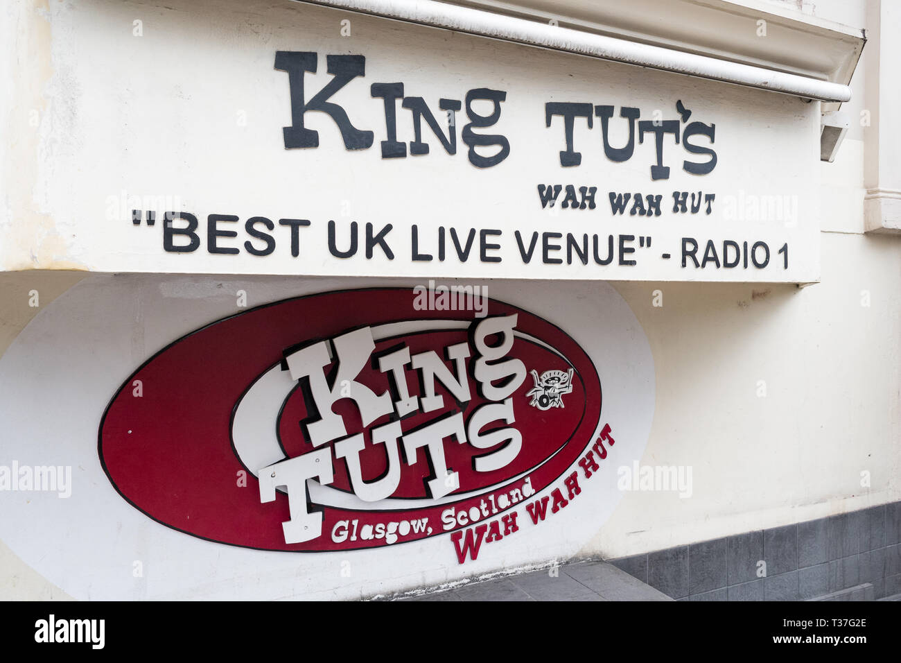 King Tuts Wah Wah Hut music venue, Glasgow, Scotland, UK Stock Photo
