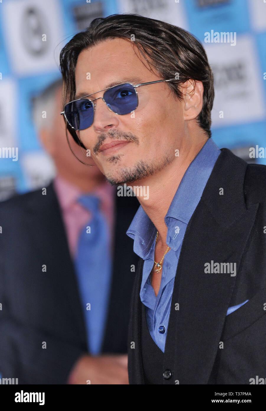 f0daf732358 Johnny Depp - Los Angeles Film Festival Public Enemies Premiere at the  Westwood Village Theatre In