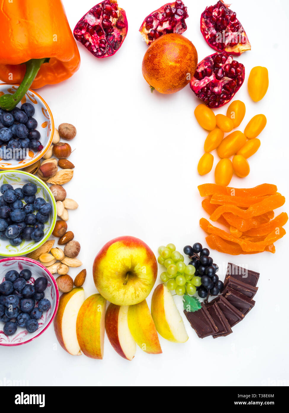 Mix Of Fresh Fruits And Berries Rich With Resveratrol Raw Food Ingredients Nutrition Background Good Foods For Heart Healthy Diet Stock Photo Alamy