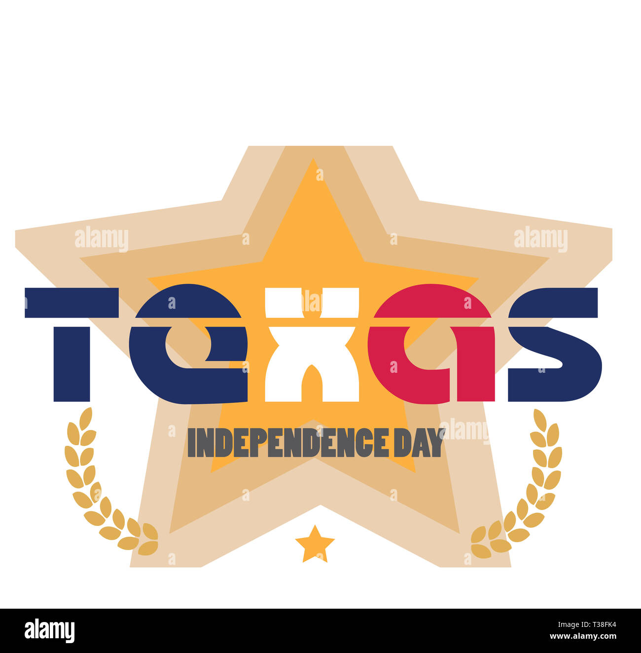 Mar_2_Texas Independence Day-1 - Stock Image
