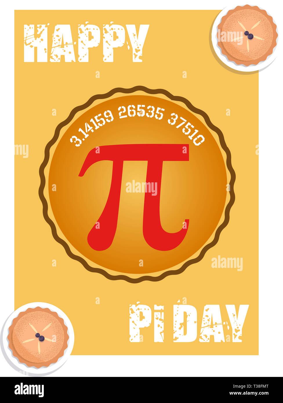 Mar_14_Pi Day-2 - Stock Image