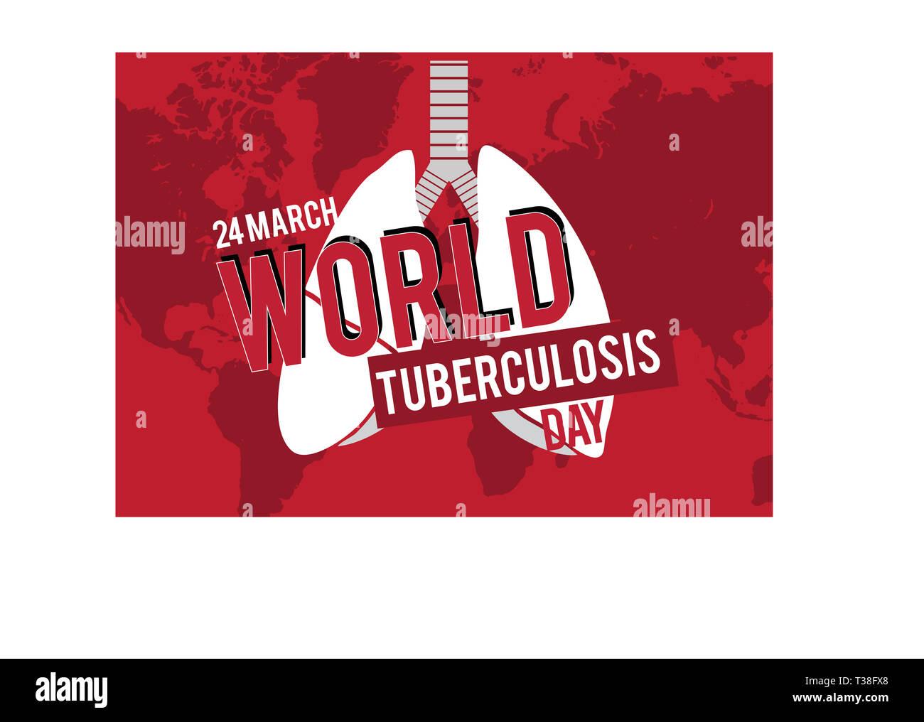 Mar_24_World Tuberculosis Day -2 - Stock Image