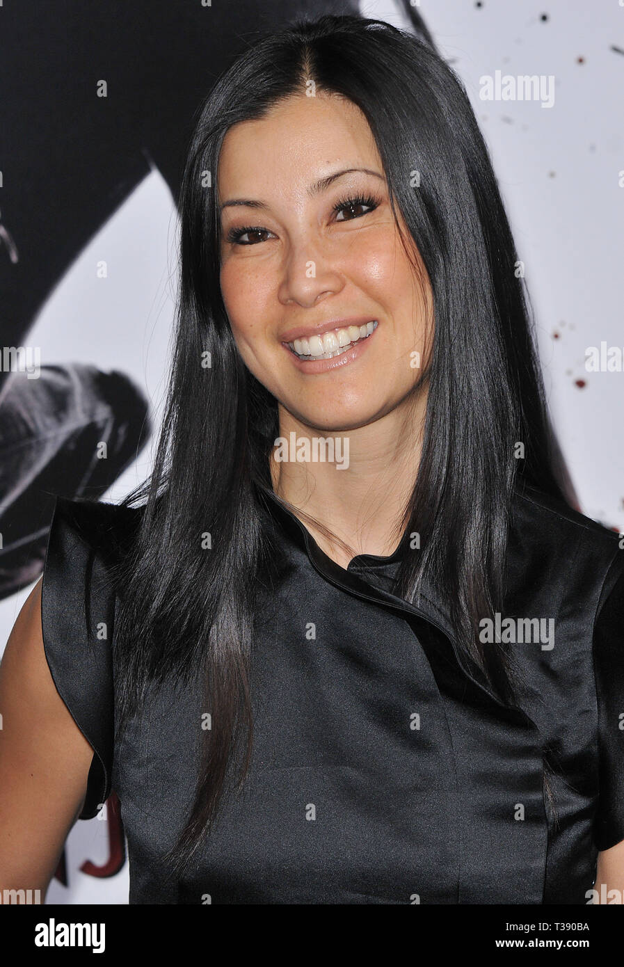 Lisa Ling - NINJA ASSASSIN Premiere at GraumanÕs Chinese Theatre In Los Angeles.Ling Lisa82 Red Carpet Event, Vertical, USA, Film Industry, Celebrities,  Photography, Bestof, Arts Culture and Entertainment, Topix Celebrities fashion /  Vertical, Best of, Event in Hollywood Life - California,  Red Carpet and backstage, USA, Film Industry, Celebrities,  movie celebrities, TV celebrities, Music celebrities, Photography, Bestof, Arts Culture and Entertainment,  Topix, headshot, vertical, one person,, from the year , 2009, inquiry tsuni@Gamma-USA.com - Stock Image