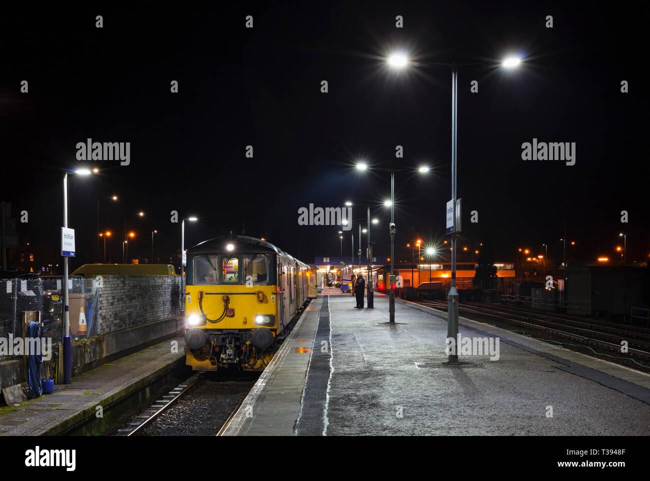 Overnight Sleeper Train Stock Photos Overnight Sleeper