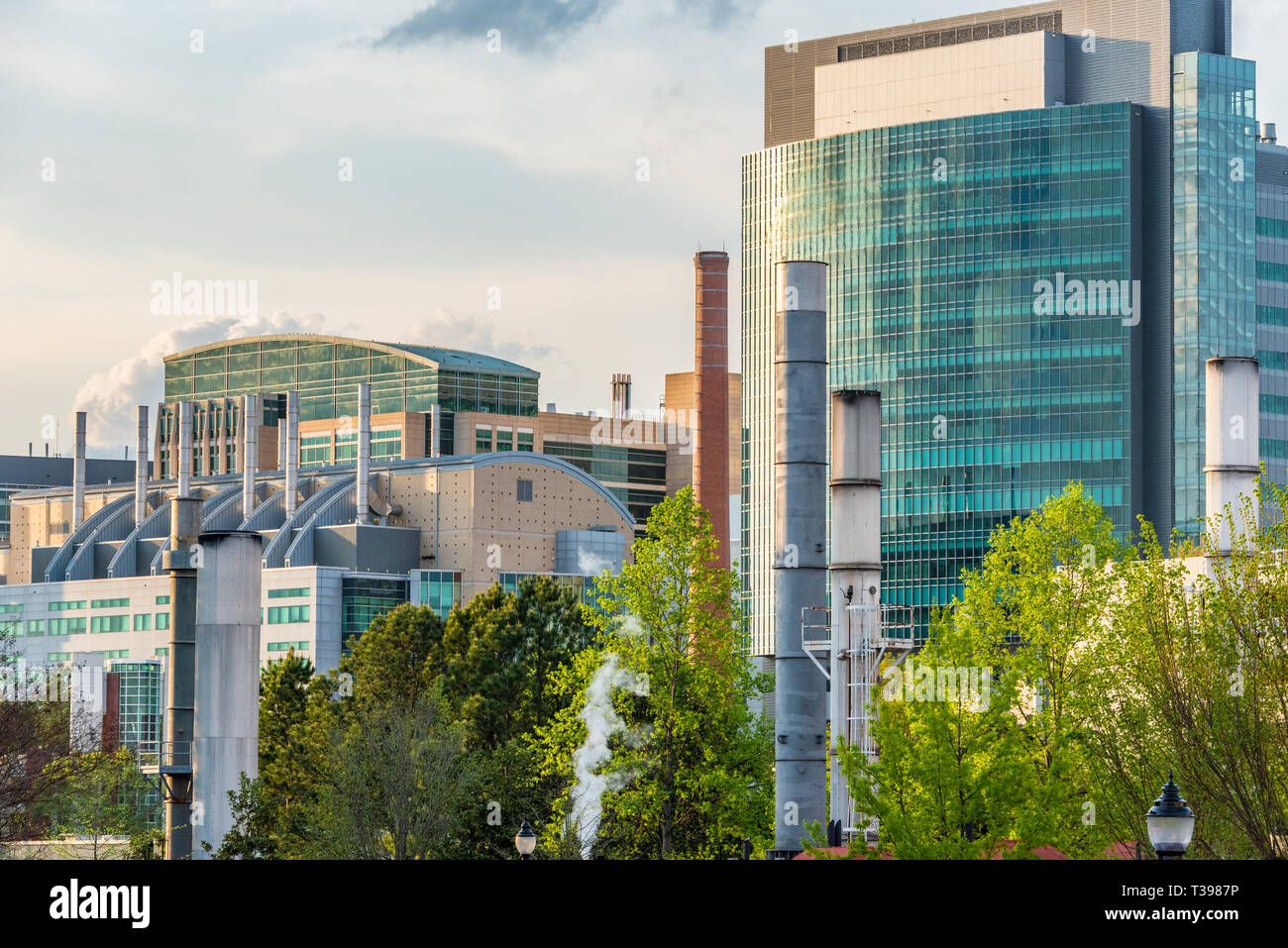The CDC (Centers for Disease Control and Prevention) as seen from the campus of Emory University in Atlanta, Georgia. (USA) - Stock Image