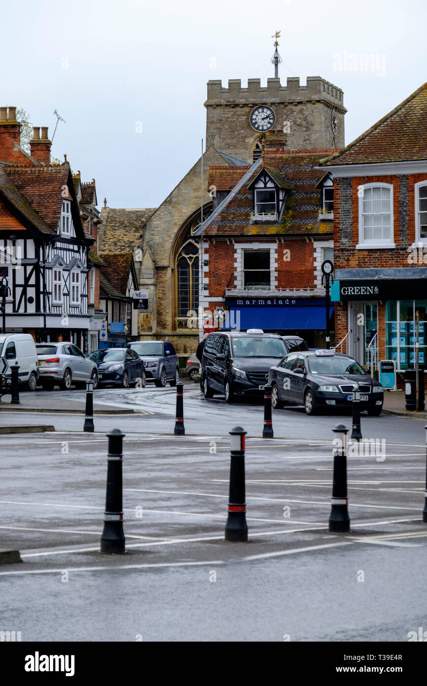 Around Wantage a market town in Oxfordshire England UK - Stock Image