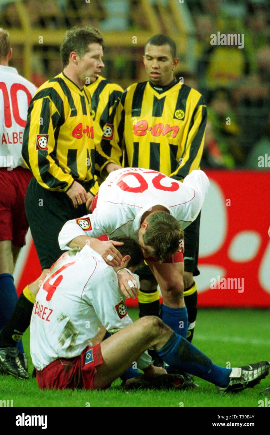 Programm 2001//02 HSV Hamburger SV Bayern München
